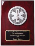 Rosewood Piano Finish Plaque Fire and Safety Awards