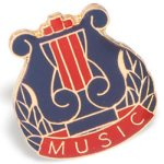 Music Lapel Pin Lapel Pins