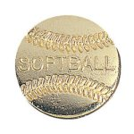 Softball Chenille Pin Lapel Pins