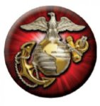Ball Marker Marines Patriotic Awards