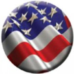 Ball Marker USA Flag Patriotic Awards