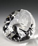 Standing Faceted Dome Secretary Gift Awards
